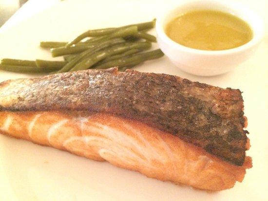 Zoom Cafe : Salmon steak