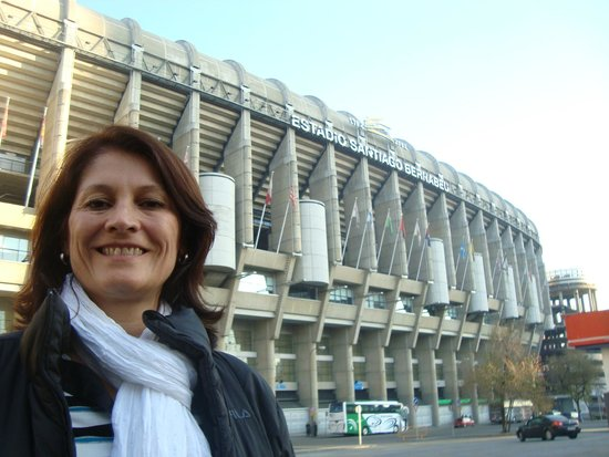 Stadio Santiago Bernabeu : Estadio Real Madrid