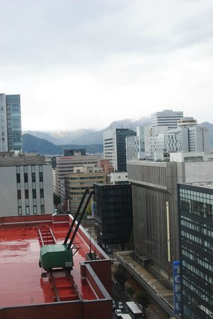ANA Hotel Sapporo: View from our room