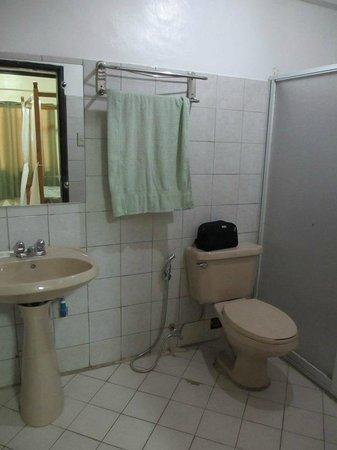 Boracay Plaza : Bathroom, ground floor