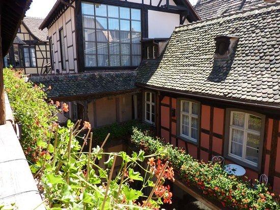 Hôtel Cour du Corbeau Strasbourg - MGallery Collection : vistas desde la habitacion