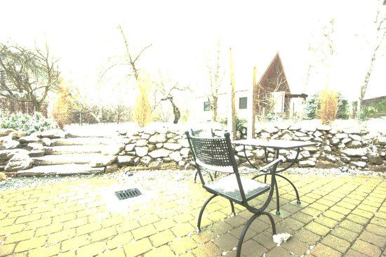 Gästehaus an der Sempt: terrazza
