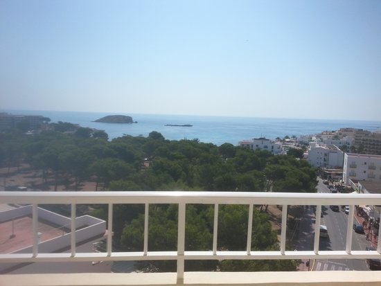 Invisa Hotel Ereso: View from our Room 616