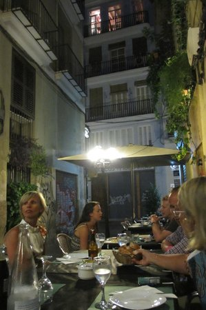 Bodego de la Sarieta: Middag i Valencia