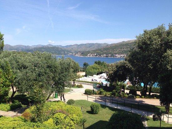 Valamar Club Dubrovnik: Vue de la chambre