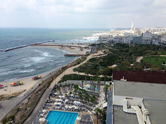 Hilton Tel Aviv: View to the north