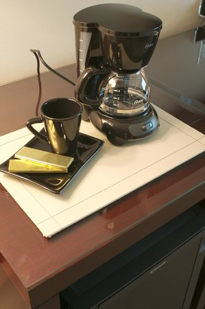 Eurobuilding Hotel Boutique Buenos Aires: Deluxe Room Coffee cortesia