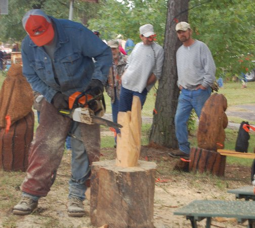 Wright City, OK: Annual LumberJax Festival