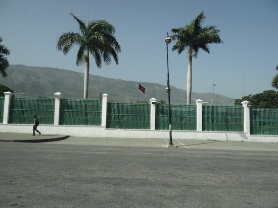 Port-au-Prince, Haïti : Local do antigo Palácio Presidencial