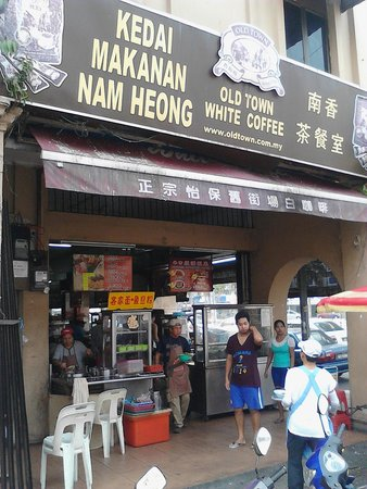 Front of the Nam Heong Coffee Shop