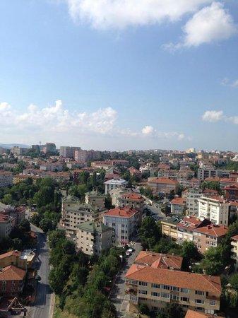 Le Méridien Istanbul Etiler: Our view