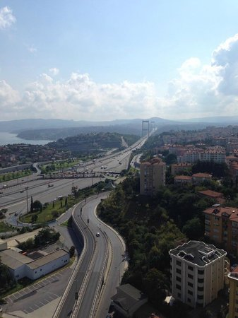 Le Méridien Istanbul Etiler: The view from our suite