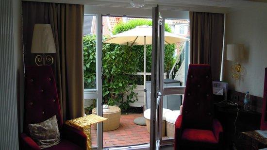 Hotel Kolb & Inselchalets: Doppelzimmer Comfort Terrasse