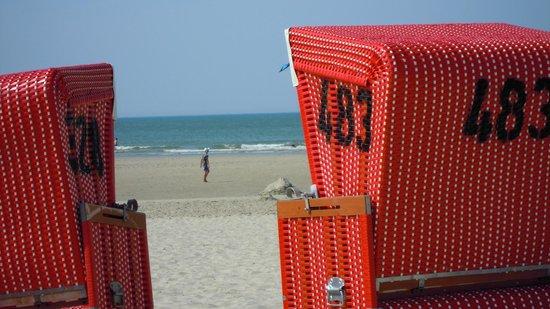 Hotel Kolb & Inselchalets: Strand