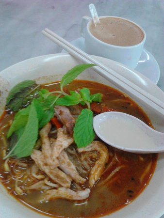 Nam Heong Coffee Shop: 'Wet' Curry Mee. They also have the dry version
