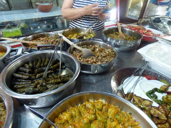 Ephesus Tours: Over 20 items at the Foodie Tour lunch
