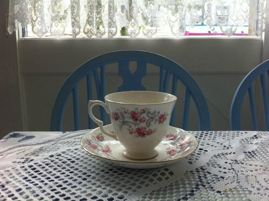 Blue Bicycle Tea Rooms : Tea for one please