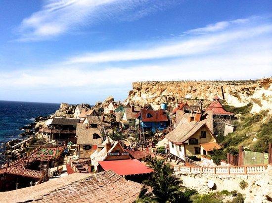 Popeye Village Malta: Popeye Village in February