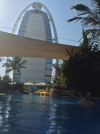 Burj Al Arab Jumeirah: view from premium pool