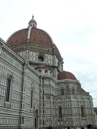 Cupola del Brunelleschi: Coté nettoyé