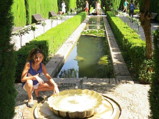Tryp Malaga Guadalmar Hotel : Les jardins d'Alhambra à Grenade