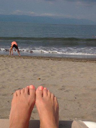 Velas Vallarta: Beach @ resort.