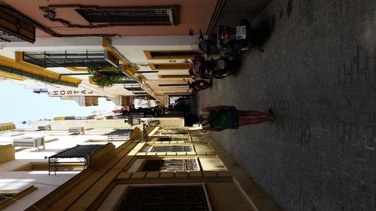 Barrio Santa Cruz: jolies petites ruelles