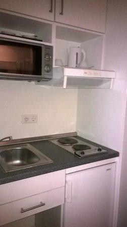 Hotel Luetzow: Мини-кухня