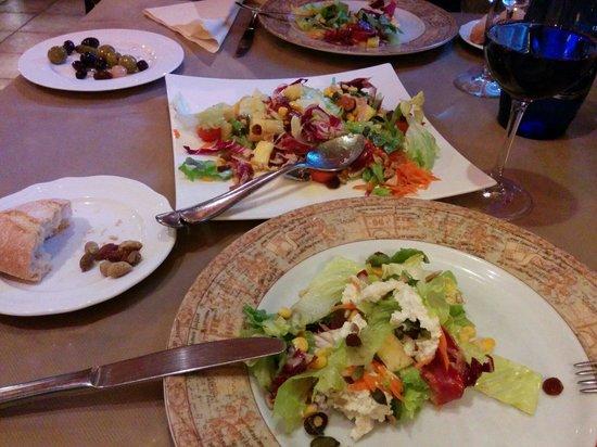 El Duende: Starter Salad
