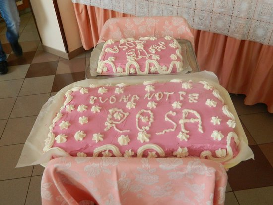 Hotel Florida: Torta della Notte Rosa '14