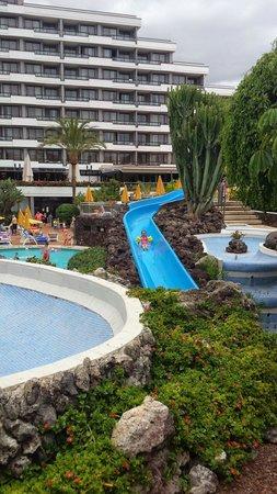 Spring Hotel Bitacora: Water slide
