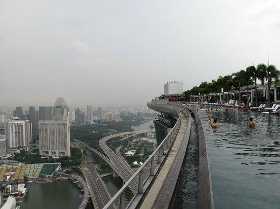 Marina Bay Sands : the infinity pool