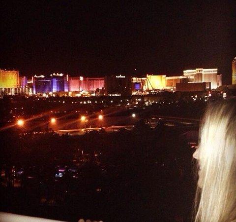 Hard Rock Hotel and Casino Las Vegas: Vista do quarto do Hard Rock Hotel & Casino Las Vegas