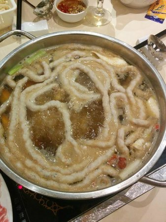 Tao Heung: crab noodle in one piece