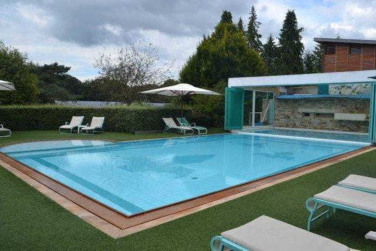 Le Manoir du Lys : La piscine