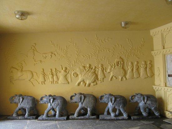 Chunda Palace Hotel: at the entrance to reception