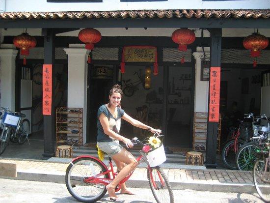 Layang Layang Guest House: Klaar om te gaan fietsen