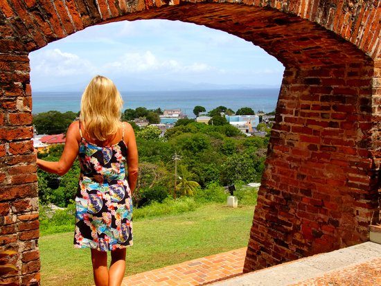 Fortin Conde de Mirasol Museum : Looking out to the sea
