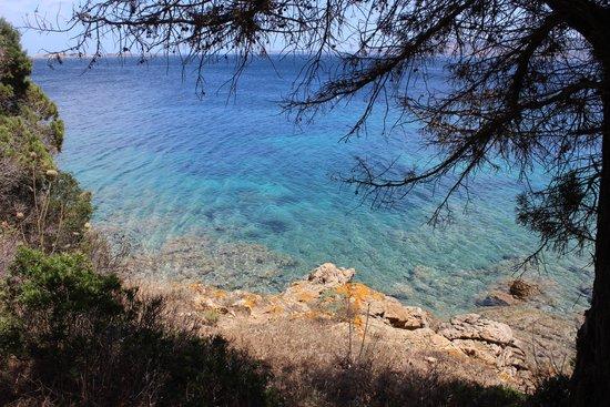 Hotel Capo D'Orso Thalasso & Spa: beach views