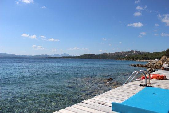 Hotel Capo D'Orso Thalasso & Spa: sundeck
