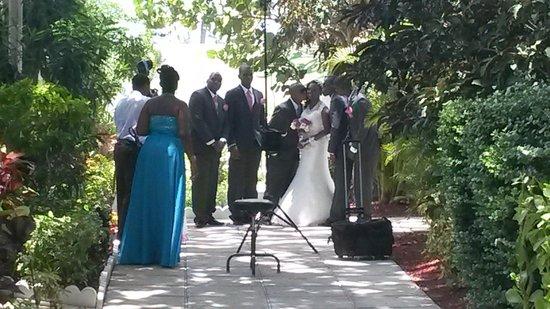 Breezes Resort Spa Bahamas Caught A Wedding