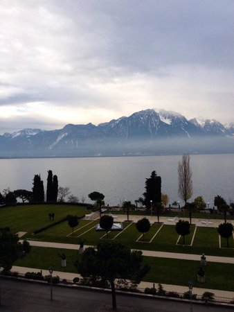 Fairmont Le Montreux Palace: View from z balcony!