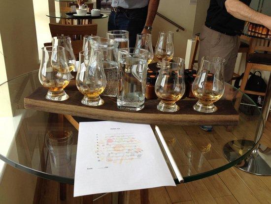 The Scotch Whisky Experience : Cours de degustation de whisky