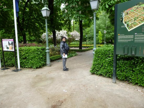 Entrada do jardim picture of royal botanic garden real for Jardin botanico entrada