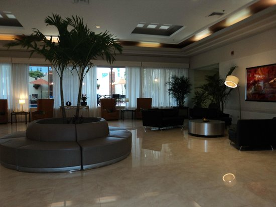 Holiday Inn Port of Miami Downtown: Lobby do Hotel