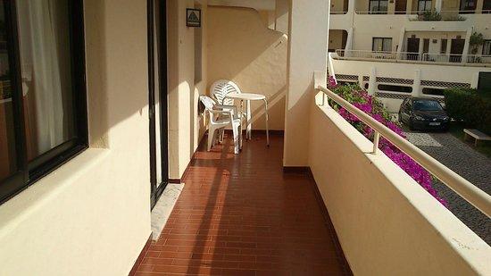 Apartamentos Olhos do Mar: terraza