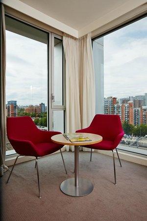 Doubletree by Hilton Hotel Leeds City Centre: An Executive corner room