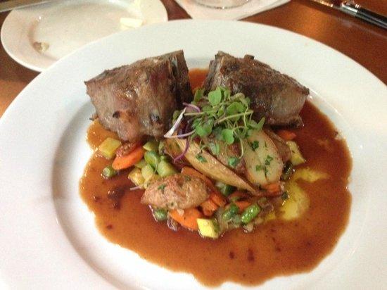 Sundy House : Porterhouse Lamb Chops