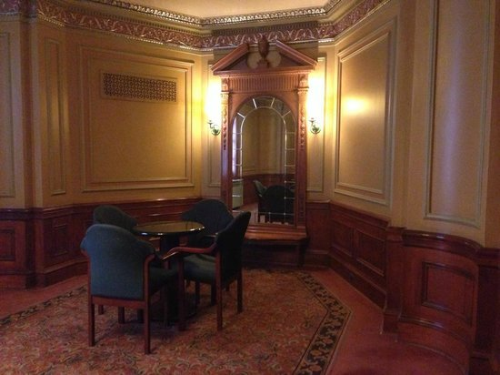 Benedum Center: One of several sitting areas on the upper floor