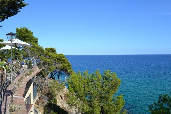 Hotel Cap Roig : De la terrasse